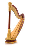 Decachord or harp stock images