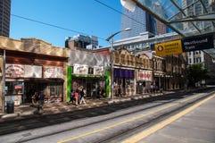 Decadencia urbana, Calgary Foto de archivo libre de regalías