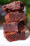 Decadent Brownies Royalty Free Stock Photo