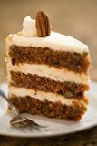 Decadent Carrot Cake Royalty Free Stock Photo