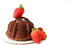 Decadent Dessert Stock Image