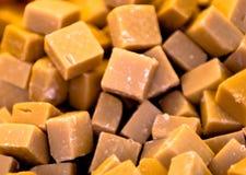 Decadent fudge. Piles of delicious decadent fudge Stock Photos