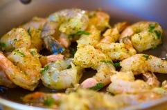 Decadent sauteed shrimp. An image of decadent sauteed shrimp Royalty Free Stock Image