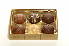 Decadent Truffles Royalty Free Stock Photography