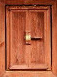 Decadent Wooden Window Stock Photo