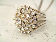 Decadente diamanten royalty-vrije stock fotografie