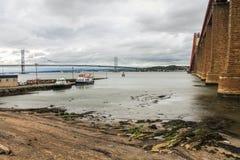 Decades Between Bridges Royalty Free Stock Photos