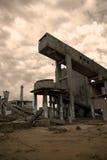 Decadimento industriale fotografie stock