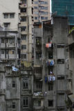 Decadimento urbano di Hong Kong Fotografie Stock Libere da Diritti