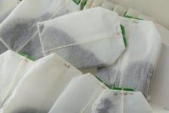 Decaffeinated tea bags Stock Photos
