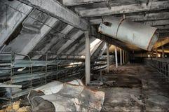 Decaimiento industrial Foto de archivo libre de regalías