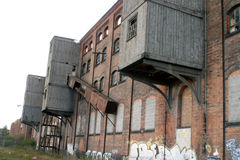 Decaimiento industrial fotos de archivo