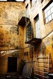 Decaimiento industrial foto de archivo