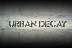 Decaimiento urbano Imagen de archivo