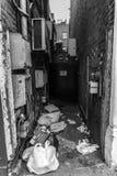 Decaimiento urbano Imagen de archivo libre de regalías
