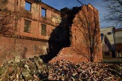 Decaimiento urbano Foto de archivo libre de regalías