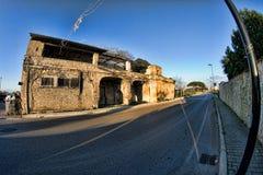 Decaimiento urbano y rural en Italia meridional Fotografía de archivo libre de regalías