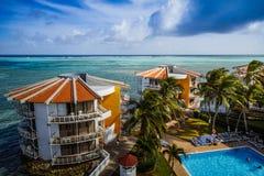 Decameron-Aquarium-Hotel in San Andres Island Stockfotos