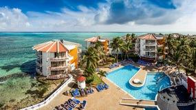 Decameron-Aquarium-Hotel in San Andres Island Lizenzfreie Stockbilder