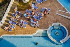 Decameron-Aquarium-Hotel in San Andres Island Lizenzfreie Stockfotografie