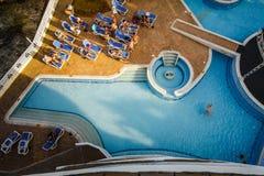 Decameron Aquarium Hotel in San Andres Island Stock Image