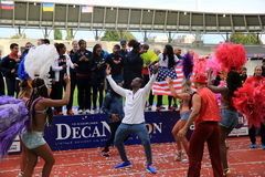 DecaNation International Outdoor Games Stock Image