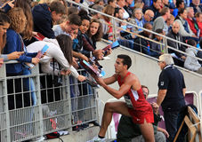 DecaNation International Outdoor Games on September 13, 2015 in Paris, France. Royalty Free Stock Images