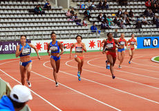 DecaNation International Outdoor Games on September 13, 2015 in Paris, France. Royalty Free Stock Photo
