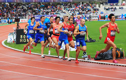 DecaNation International Outdoor Games on September 13, 2015 in Paris, France. Royalty Free Stock Photos