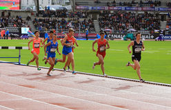 DecaNation International Outdoor Games on September 13, 2015 in Paris, France. Stock Photography