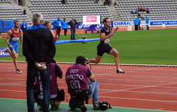 DecaNation International Outdoor Games on September 13, 2015 in Paris, France. Stock Image