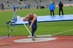 DecaNation International Outdoor Games on September 13, 2015 in Paris, France. Stock Photo