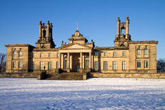 Decano Gallery In Snow fotografía de archivo