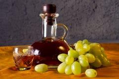 Decantatore di brandy Immagini Stock