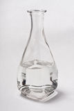 Decanter. Whith water on white background Stock Photo