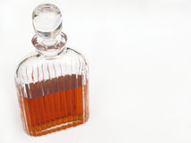 Decanter. With alcohol stock image