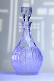 Decanter Blue Royalty Free Stock Photography