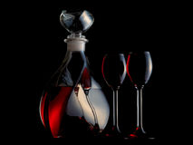 Free Decanter Filled With Liquor Royalty Free Stock Photos - 11034928