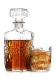 Decanter of whiskey Stock Photography