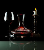 Decanting Stock Image