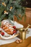 Decaration de la Navidad Foto de archivo libre de regalías