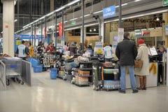 Decathlon shopping Stock Photo