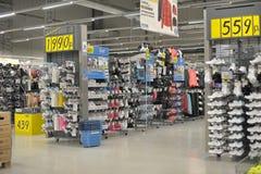 Decathlon shopping Stock Photos