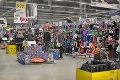 Decathlon shopping Royalty Free Stock Image