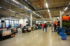 Decathlon shopping Royalty Free Stock Photos