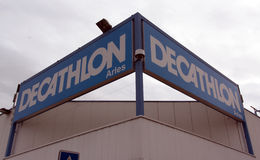 Decathlon store in Paris, France Royalty Free Stock Photography