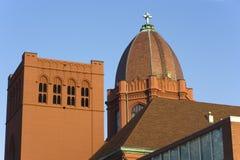Decatur, l'Illinois - du centre. Photo libre de droits