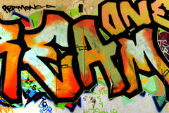 Graffiti. Past and History, Decay and Color royalty free stock photography