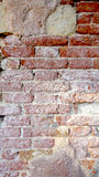 Decay brick wall textures. In Venice, Italy Royalty Free Stock Images