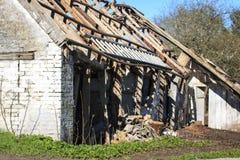Decay house Stock Photos